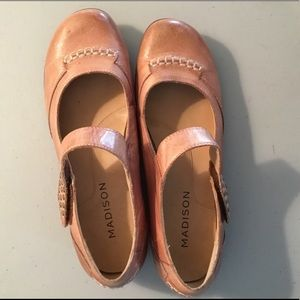 Madison Piper Leather Flats
